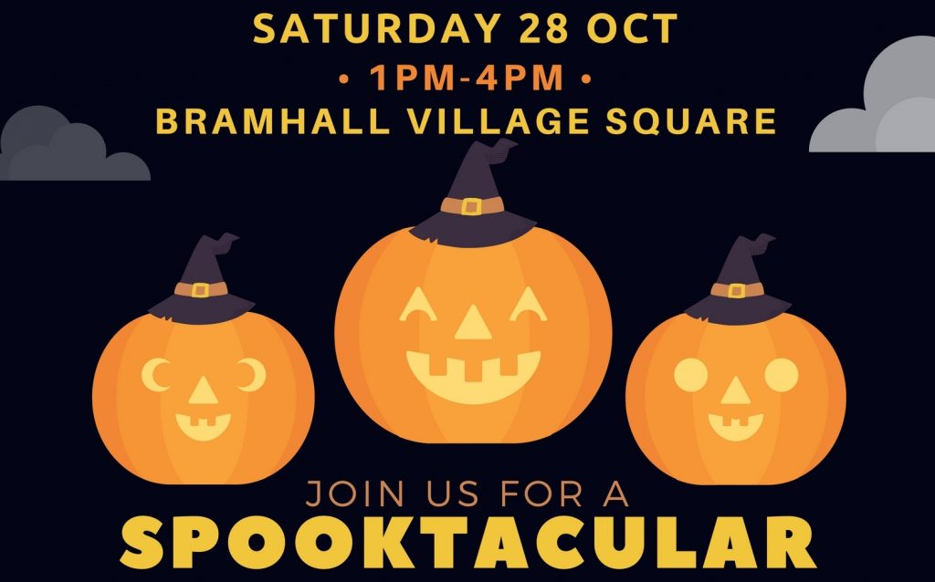 Spooktacular in Bramhall Village Square